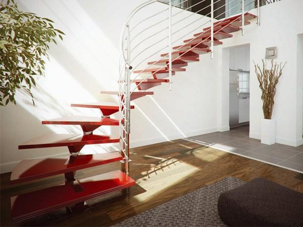 Scale di design per interni faraone - Scale interni design ...
