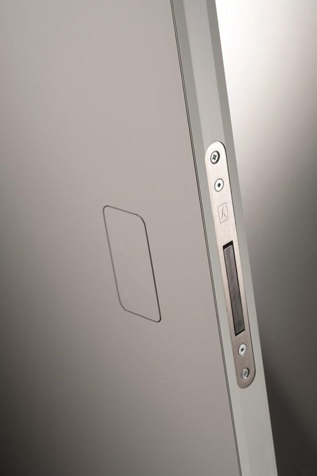 Secret push la nuova maniglia invisibile barausse - L invisibile porte ...