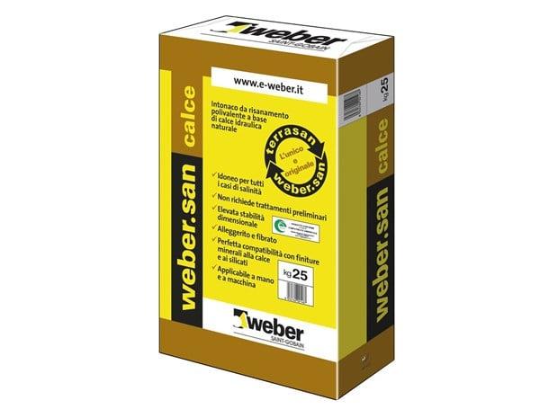 Weber san calce prezzo