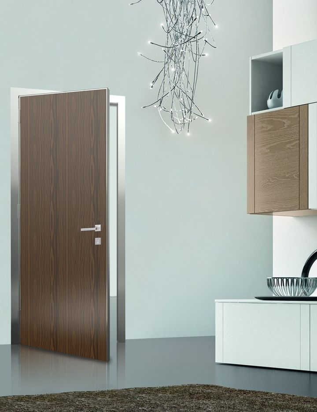 Easy door di alsistem le porte interne con telaio in - Porte interne senza telaio ...