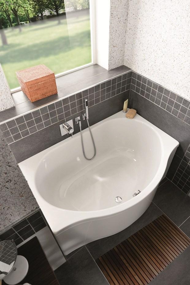 Vasche da bagno e piatti doccia a filo pavimento kaldewei - Vasche da bagno piccole dimensioni ...