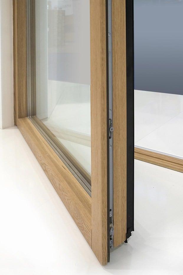 Minimal wood la nuova linea di finestre e portefinestre di gruppo de carlo presentate a - De carlo finestre ...