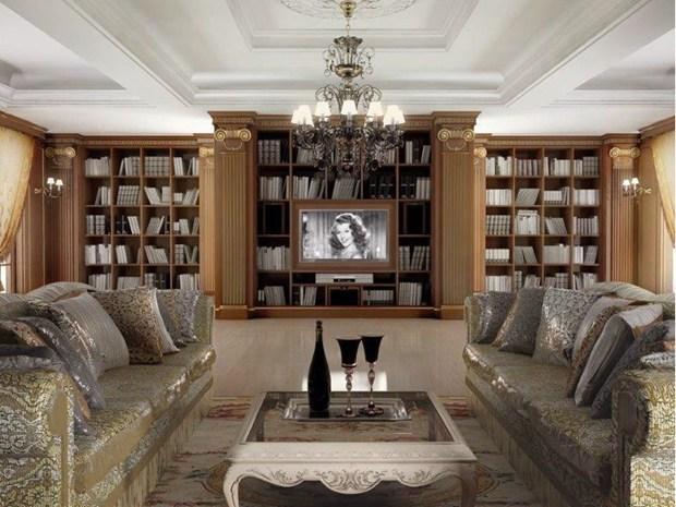 Turati boiseries presenta le eccellenze nell arredamento for Arredamento interni lusso