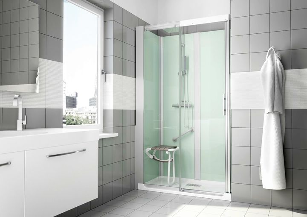 G magic di grandform per trasformare la vasca in doccia in for Trasformare vasca in doccia