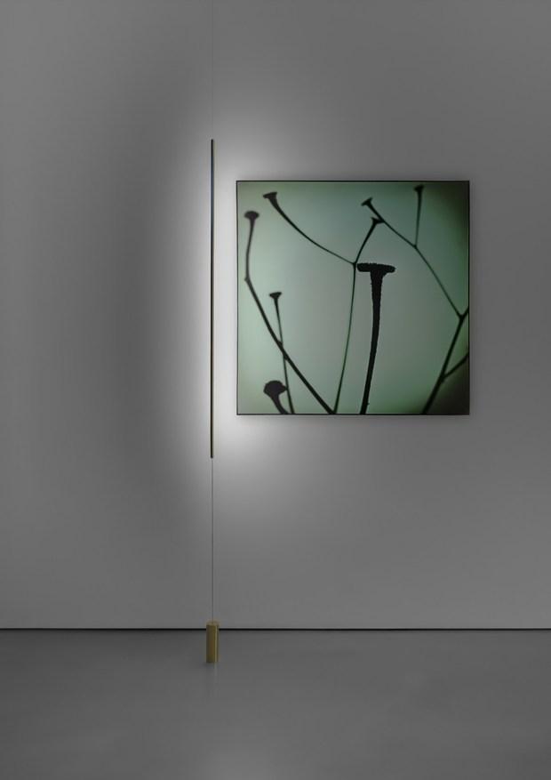 illuminazione quadri senza fili boiserie in ceramica per