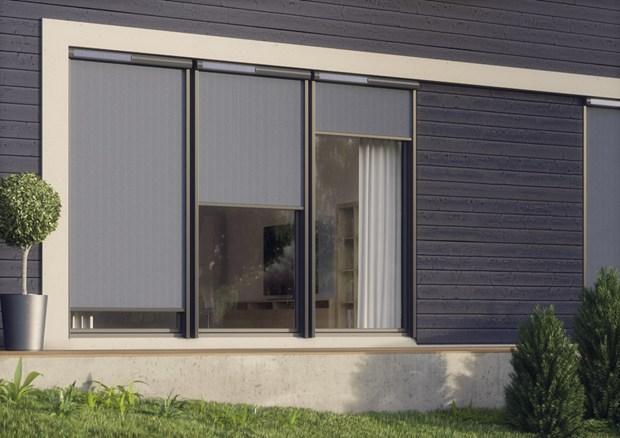 Nuova tenda parasole vmz fakro la soluzione ombreggiante esterna per finestre verticali - Aprire una nuova finestra ...