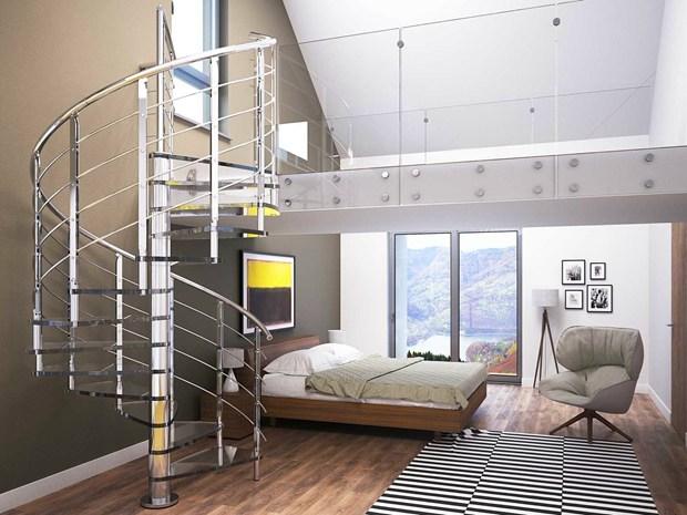 Brillia by rintal l 39 evoluzione delle scale a chiocciola for Rintal scale prezzi