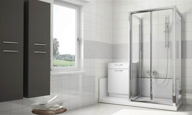 la vasca in doccia in 8 ore? Con G-Magic di Grandform è facile