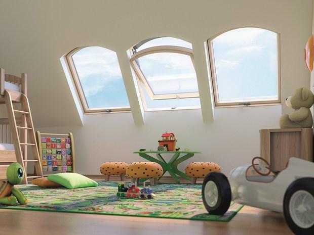 presenta la nuova finestra ad arco: un tocco di stile per la mansarda