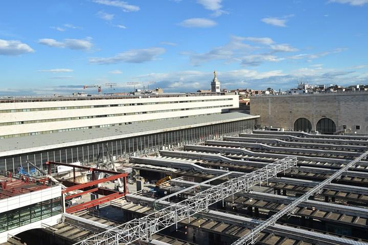Roma Termini, completata la nuova piastra servizi