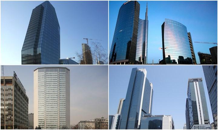I giganti d'Italia, dieci grattacieli che dagli anni '60 ad oggi si sfidano in altezza