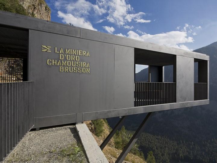 Museo della Miniera di Chamousira di Binel ed EM2 Architekten