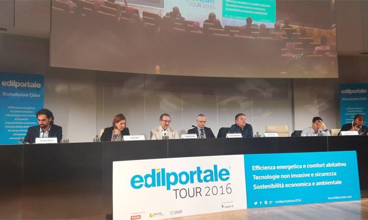 Si è concluso a Roma Edilportale Tour 2016