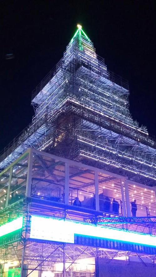 Le soluzioni KE Protezioni Solari e la professionalità MEMBRINI srl per l'area ristorazione di NAlbero
