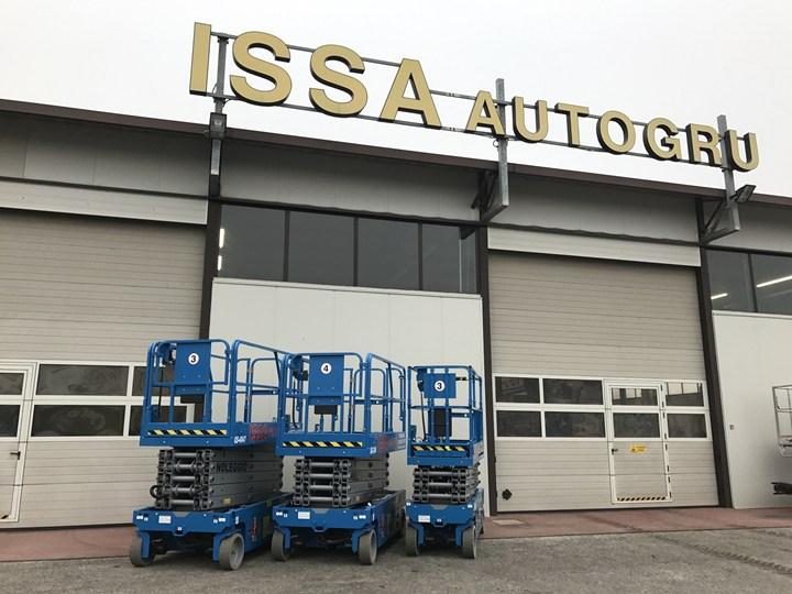 CTE: una flotta di piattaforme GENIE GS per Issa Autogru