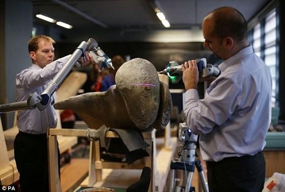 Il Natural History Museum di Londra sceglie CAM2 per la scansione dello scheletro del famoso dinosauro