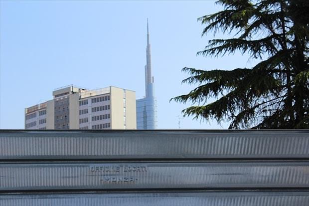 Officine Locati per lo skyline di Milano