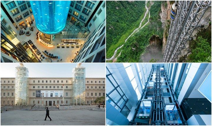 Ascensori, le soluzioni per scalare grattacieli e montagne