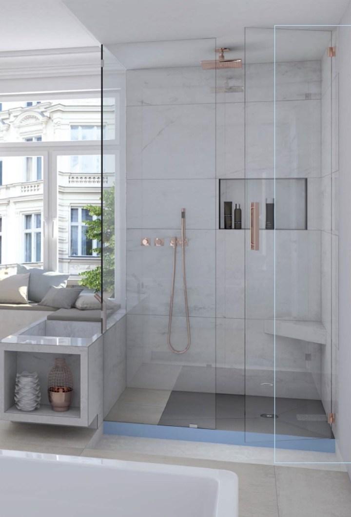 Fundo Integro di Wedi: la doccia diventa slim