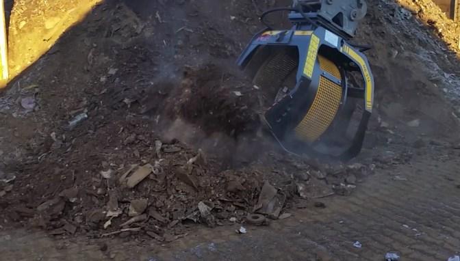 MB Crusher, la separazione in cantiere costa meno