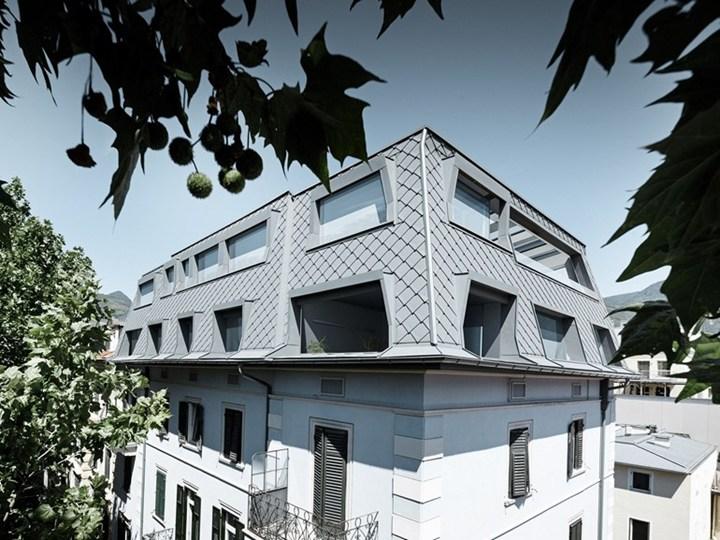 Prefa per la nuova copertura di un edificio di Monaco