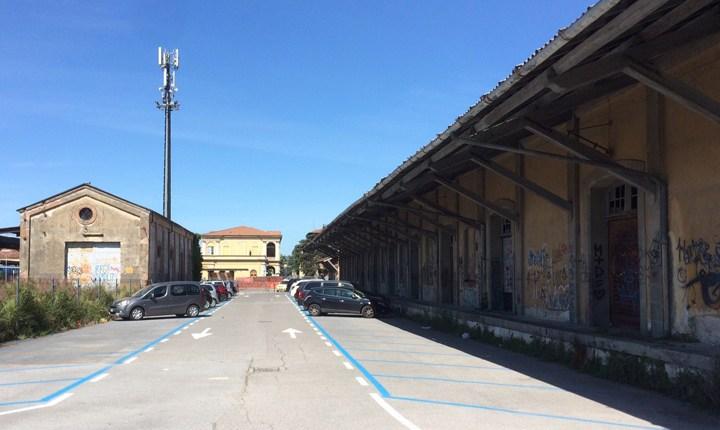 Ex scalo merci di Lucca. Fonte: Luccaindiretta.it
