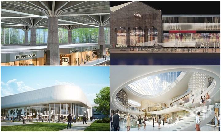 Innovativi e sostenibili, ecco i nuovi centri commerciali italiani