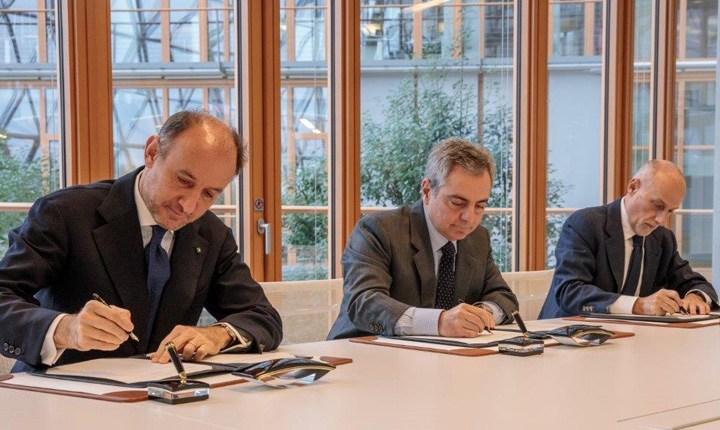 Fabio Gallia, CEO CDP - Dario Scannapieco, Vicepresidente BEI e Presidente FEI - Pier Luigi Gilibert Chief Executive FEI