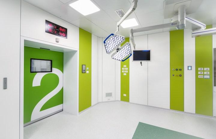 Con TrueSpace di Operamed e Corian®, l'innovazione architettonica entra in ospedale