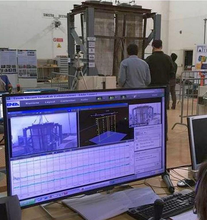 Sistema 3DVision di acquisizione dati e condivisione a distanza della sperimentazione