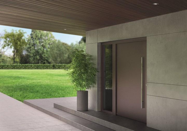 Porta d'ingresso ThermoCarbon Hörmann: sicurezza ed isolamento termico al top