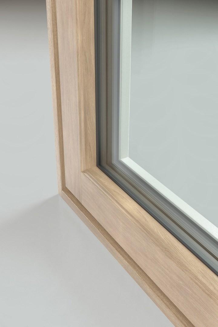 Fin ligna la linea di serramenti in alluminio legno e pvc for Serramenti legno pvc
