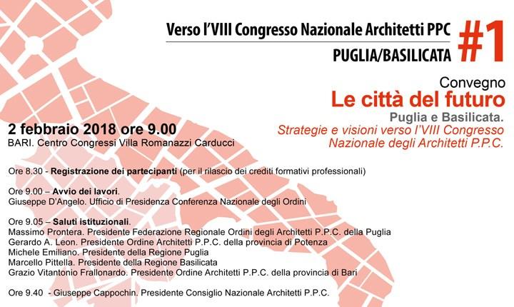 Architetti, parte da Bari il percorso verso il Congresso Nazionale