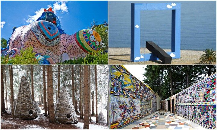 Natura fa rima con scultura, dove arte e ambiente si fondono