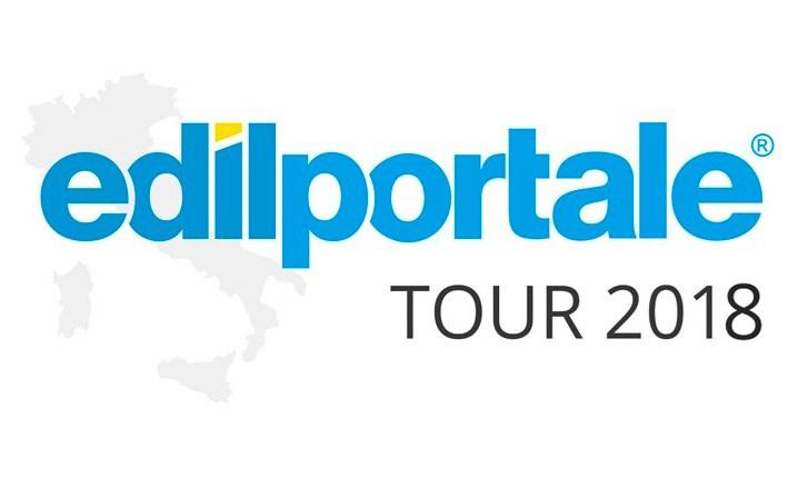 Edilportale Tour 2018, si parte il 6 marzo