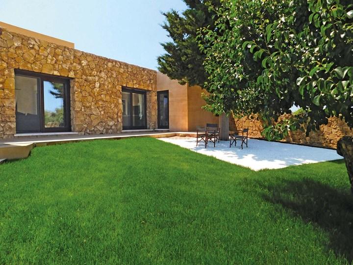 Lecablocco Bioclima Superlight di ANPEL per una villa in Sicilia