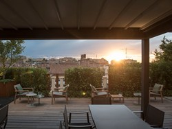 Ospitalità sui tetti di Bologna