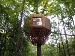 Origin Tree House: addio tradizionale casa sull'albero