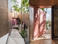 Il nuovo Atelier di TACO Architettura dai toni del rosa