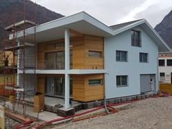Villetta in legno a Mese (SO) isolata con sistema Isotec a tetto e a parete