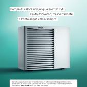 Pompa di calore aria/acqua Vaillant aroTherm
