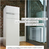 Pompa di calore aria/acqua monoblocco Vaillant