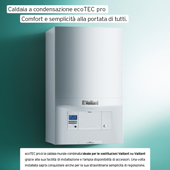 Riscaldamento e produzione ACS con Vaillant ecoTEC pro