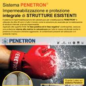Impermeabilizzazione e protezione del cls Penetron