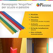Paracolpi angolari di protezione in PVC - Piesse