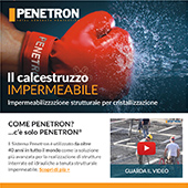 Impermeabilizzazione strutturale: servizio chiavi in mano Penetron