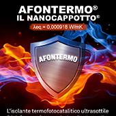Isolante ultrasottile AfonTermo NanoCappotto