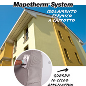 Isolamento termico a cappotto: Mapei Mapetherm System