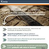 Sistemi compositi FRP in carbonio per il consolidamento e l'antisismica