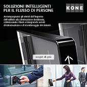 Soluzioni intelligenti per il flusso di persone Kone